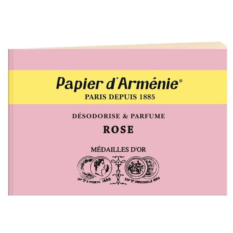 Carnet La Rose, Papier d'Arménie (x1)