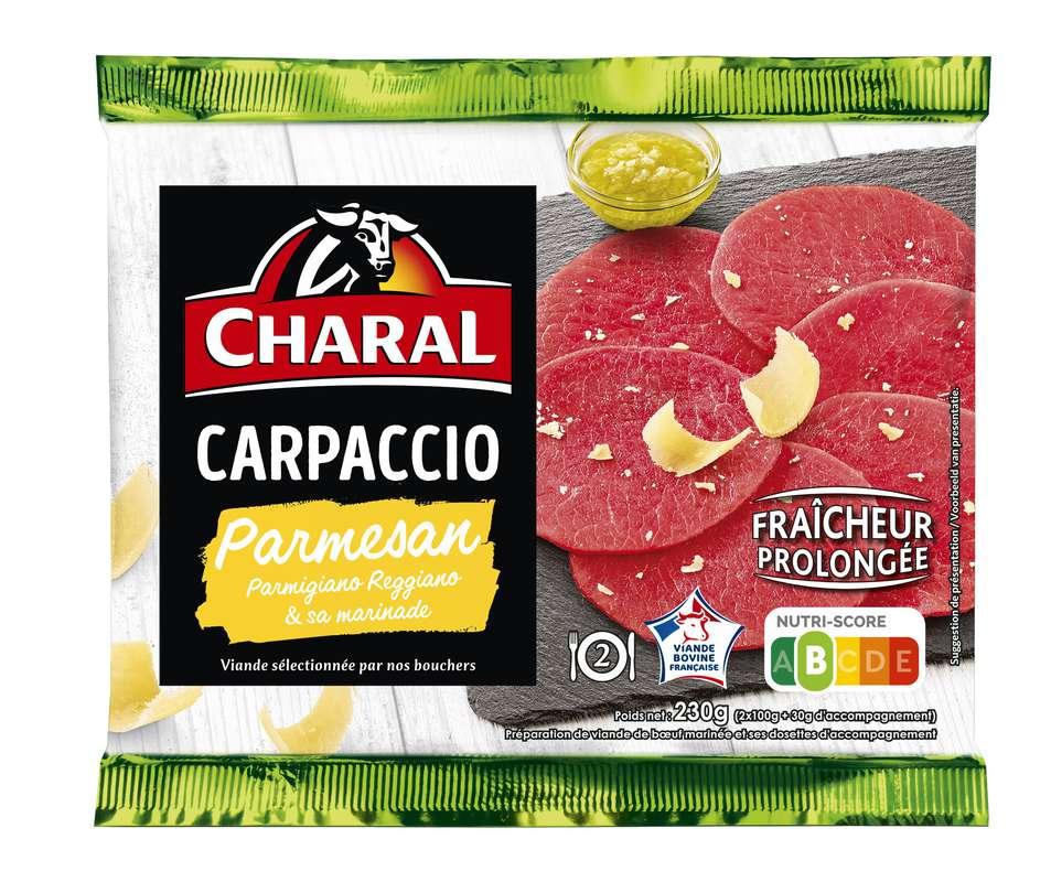 Carpaccio Parmesan, Charal (230 g)