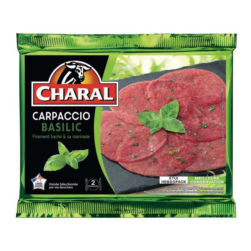 Carpaccio Basilic, Charal (230 g)