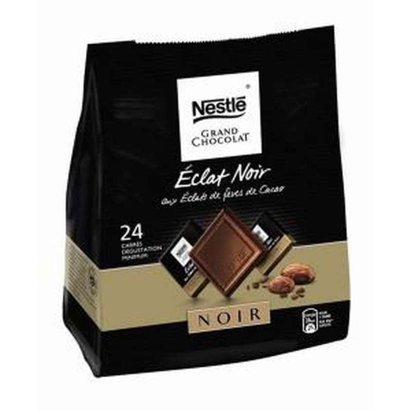 Carrés Éclat noir Fèves de cacao, Nestlé (192 g)