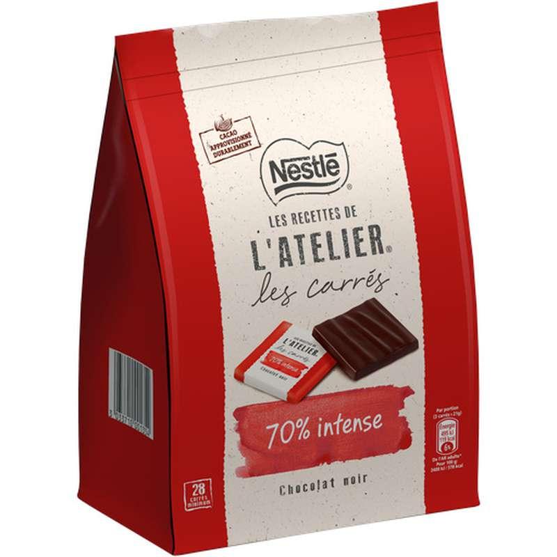 Carrés de chocolat noir 70%, Nestlé (x 28)