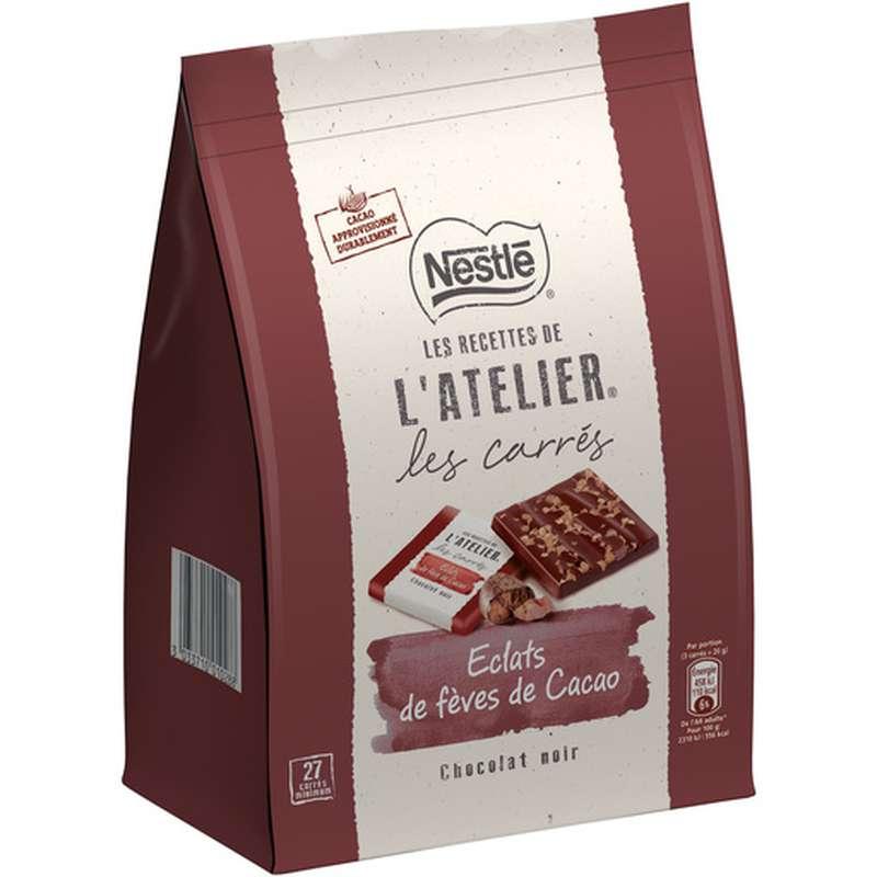 Carrés Éclat noir de fèves de cacao, Nestlé (x 28)