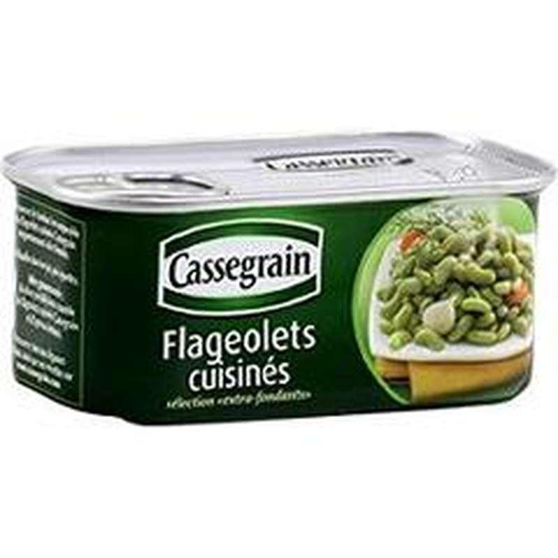 Flageolets cuisinés, Cassegrain (200 g)