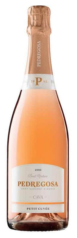 Cava Pedregosa BIO, Petite Cuvée rosée (75 cl)