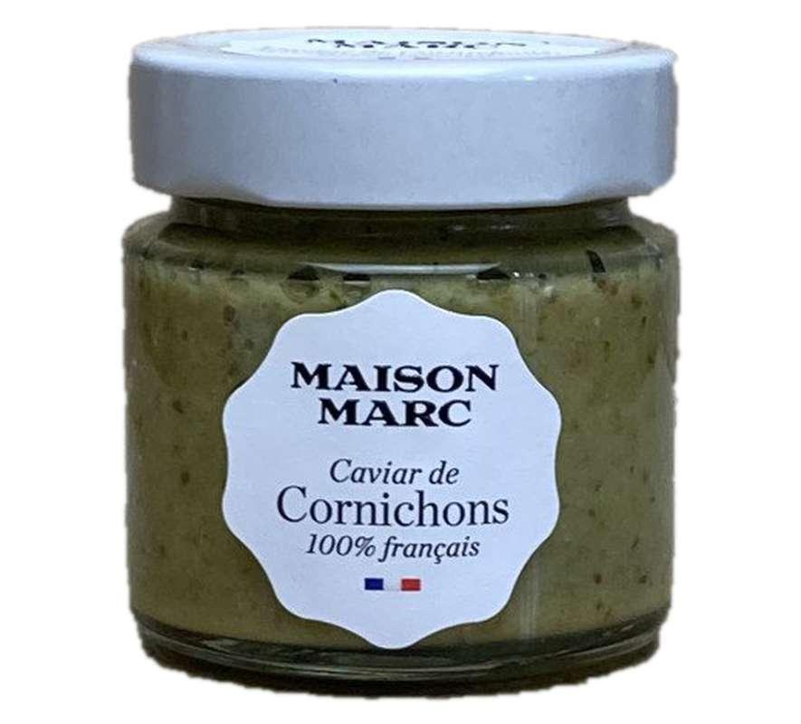 Caviar de cornichons, Maison Marc (120 g)