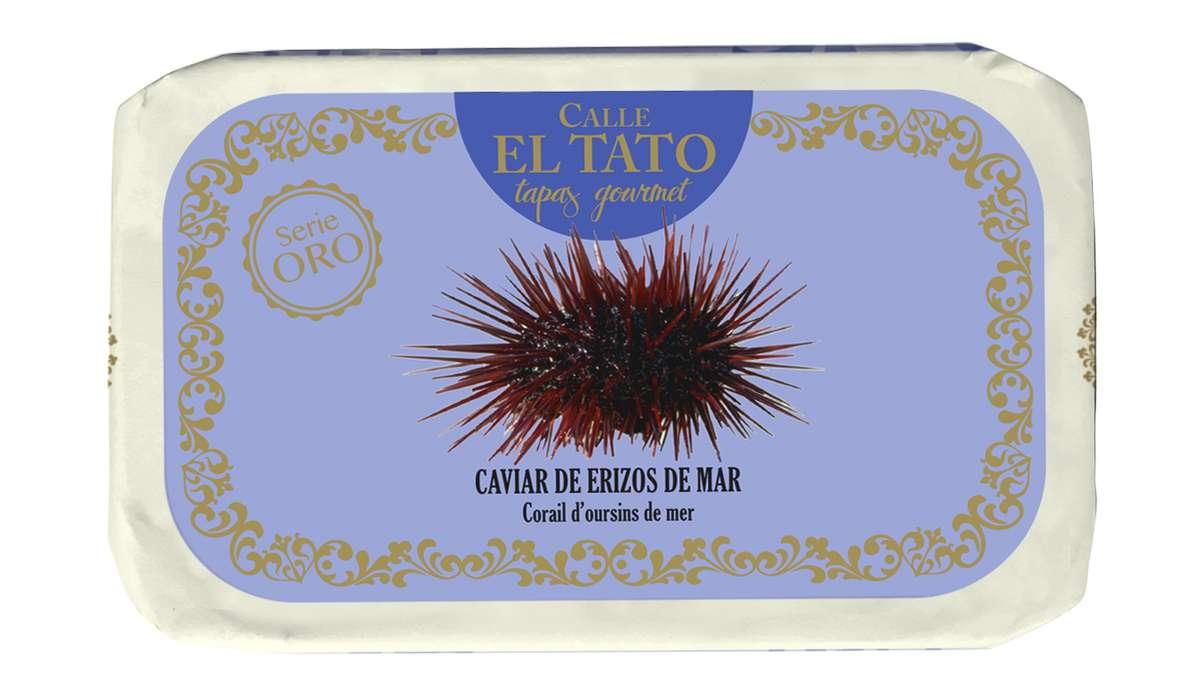 Caviars d'oursin nature, Calle El Tato (110 g)