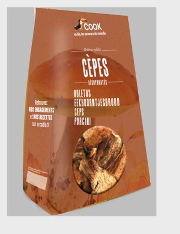 Cèpes coupés séchés BIO, Cook (30 g)