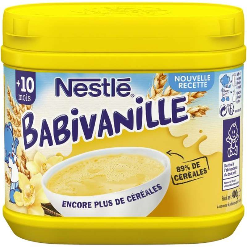 Babivanille -  dès 10 mois, Nestlé (400 g)