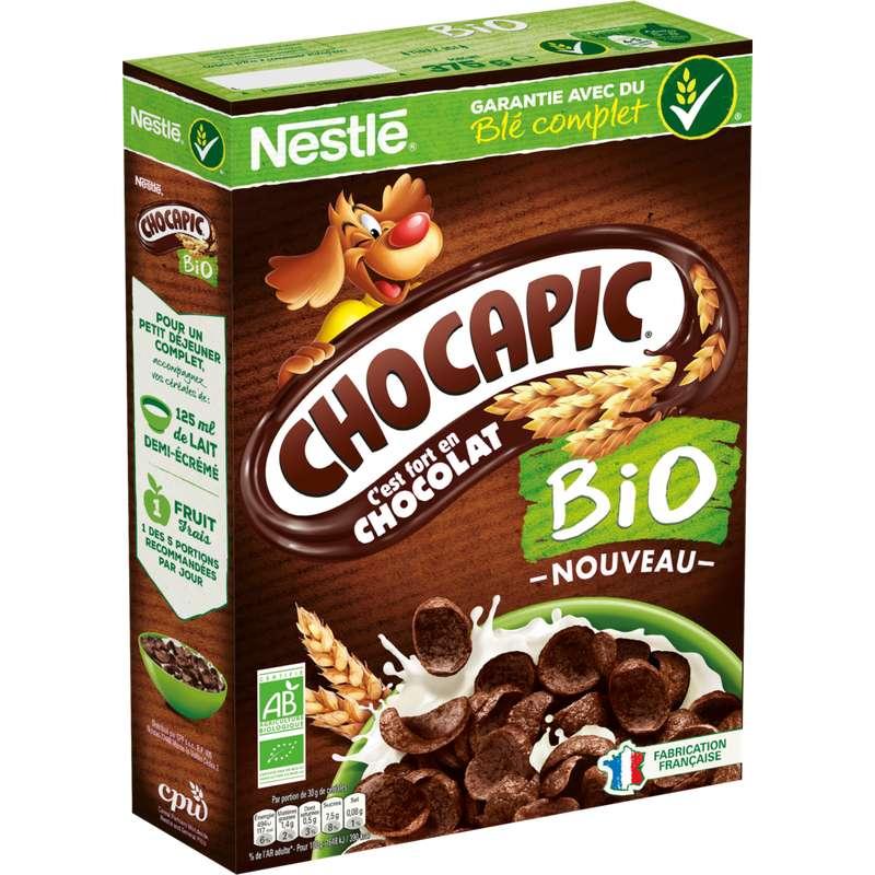 Céréales Chocapic BIO, Nestlé (375 g)