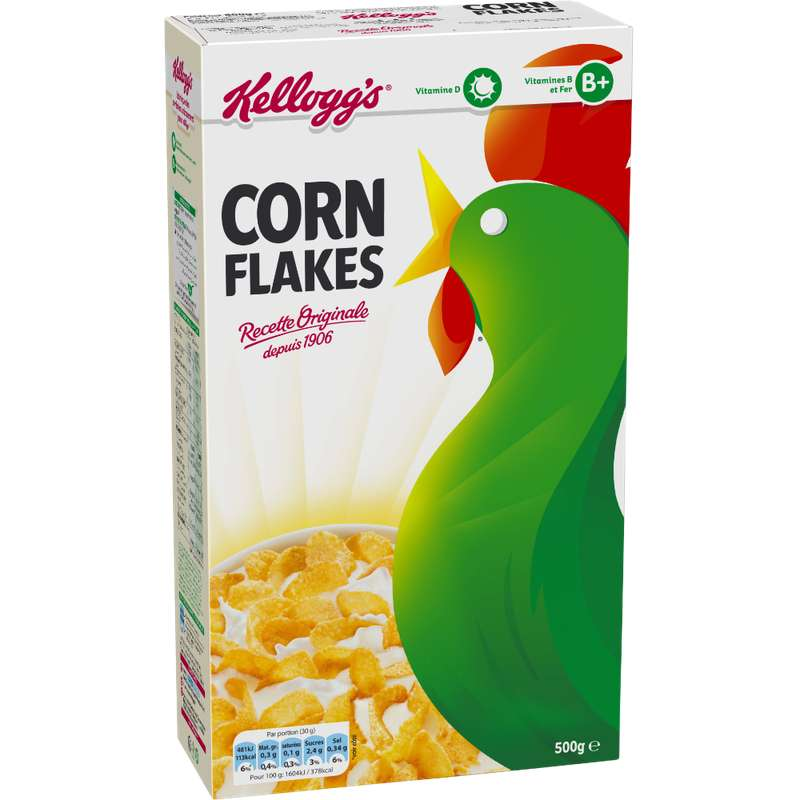 Corn flakes, Kellog's (500 g)