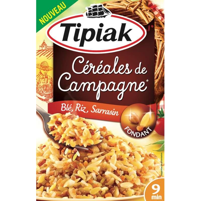 Céréales de campagne (blé riz sarrasin), Tipiak (2 x 165 g)