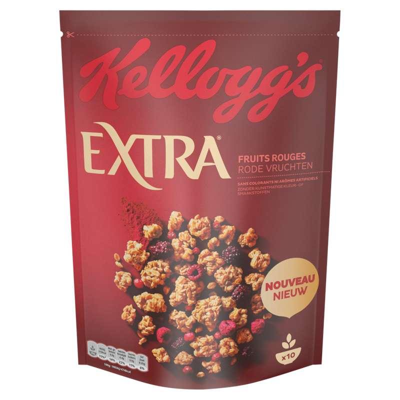 Extra fruits rouges, Kellogg's (450 g)