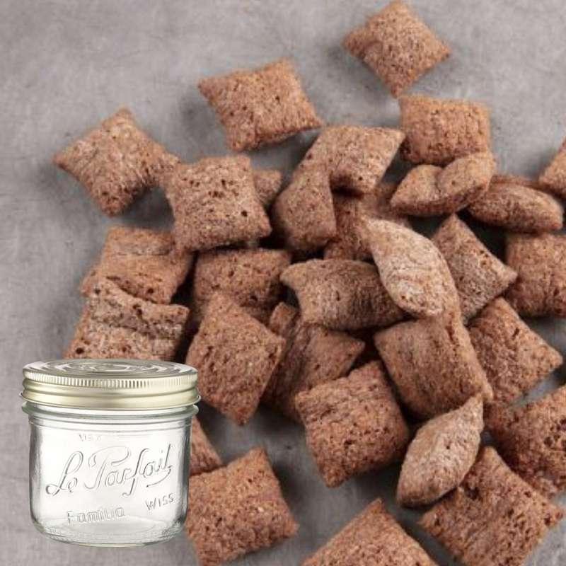 Céréales fourrés chocolat noisette BIO bocal consigné / 2,5€ récupérable (270 g)