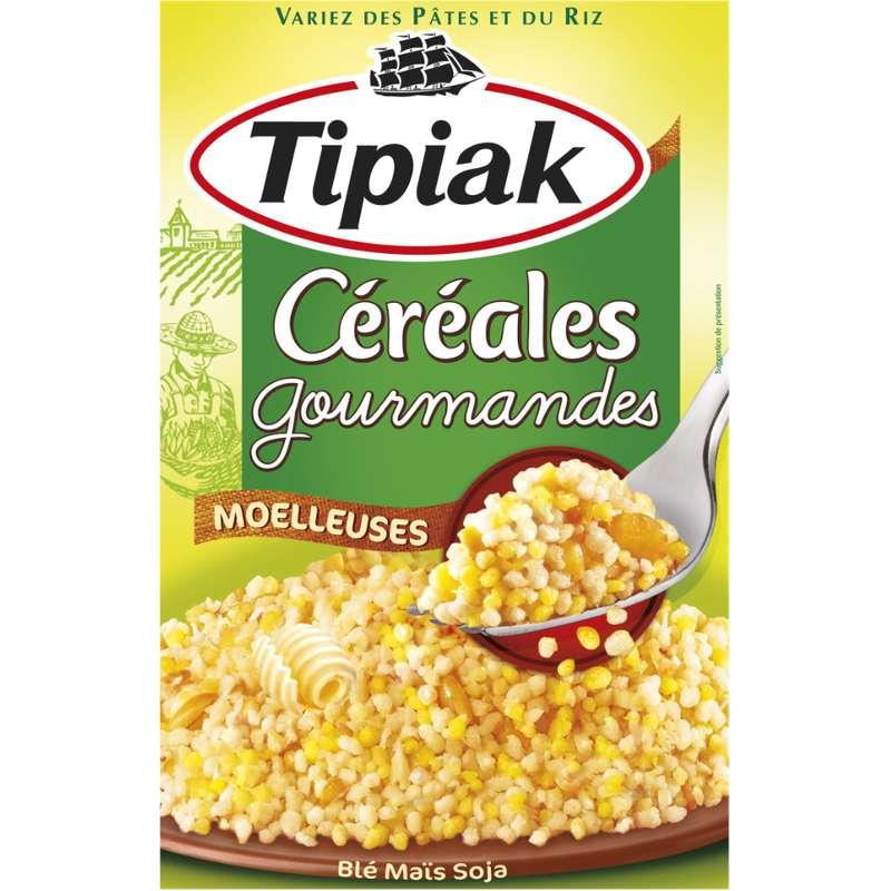 Céréales Gourmandes (blé maïs soja), Tipiak (400 g)