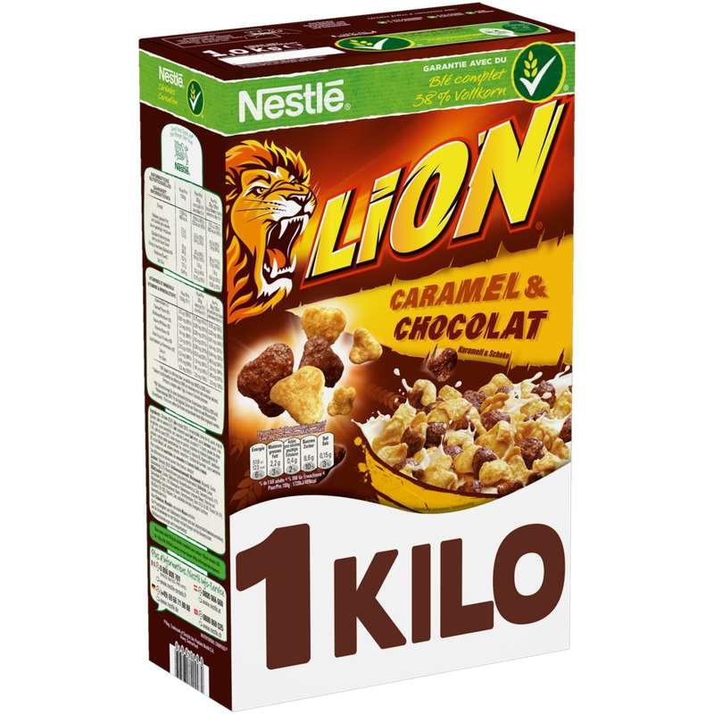 Céréales Lion Caramel et Chocolat, Nestlé (1.05 kg)