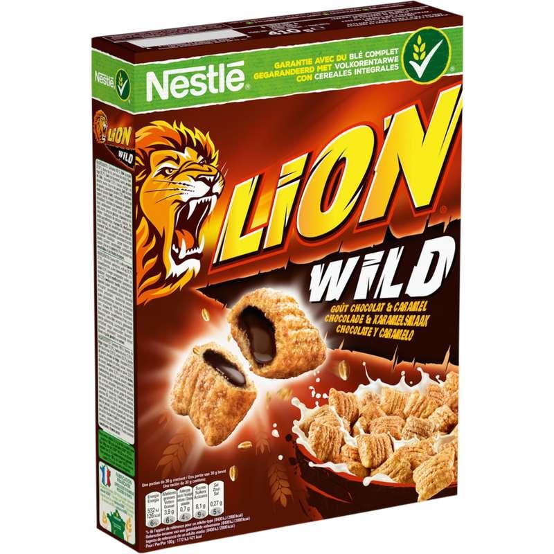 Céréales Lion Wild, Nestlé (410 g)