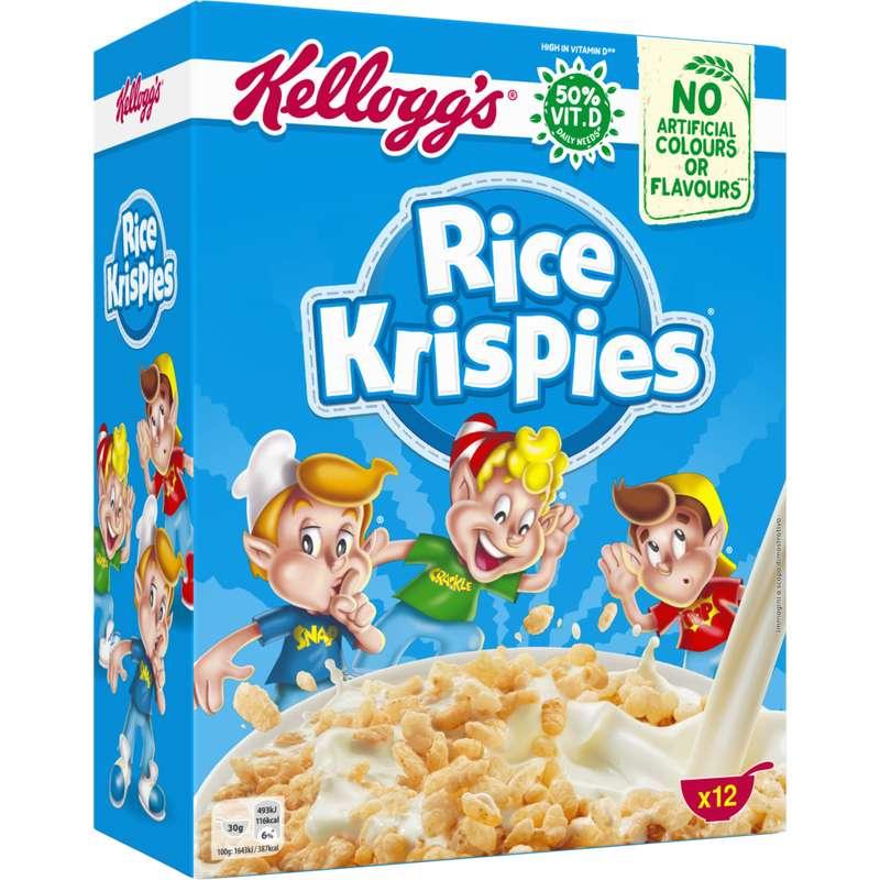Céréales rice krispies, Kellogg's (375 g)