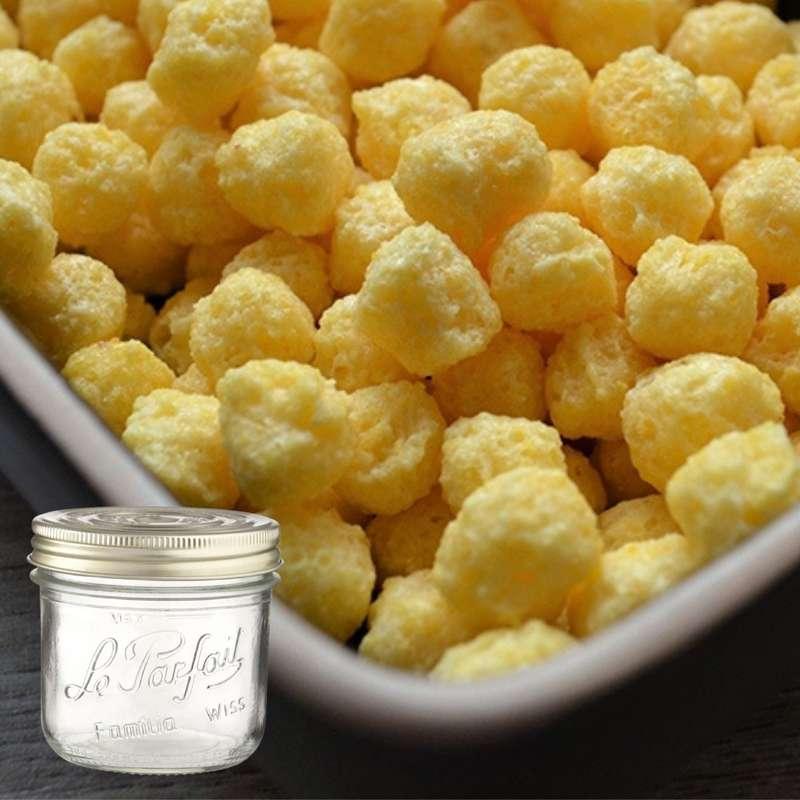 Céréales de maïs soufflés au miel BIO bocal consigné / 2,5€ récupérable (160 g)