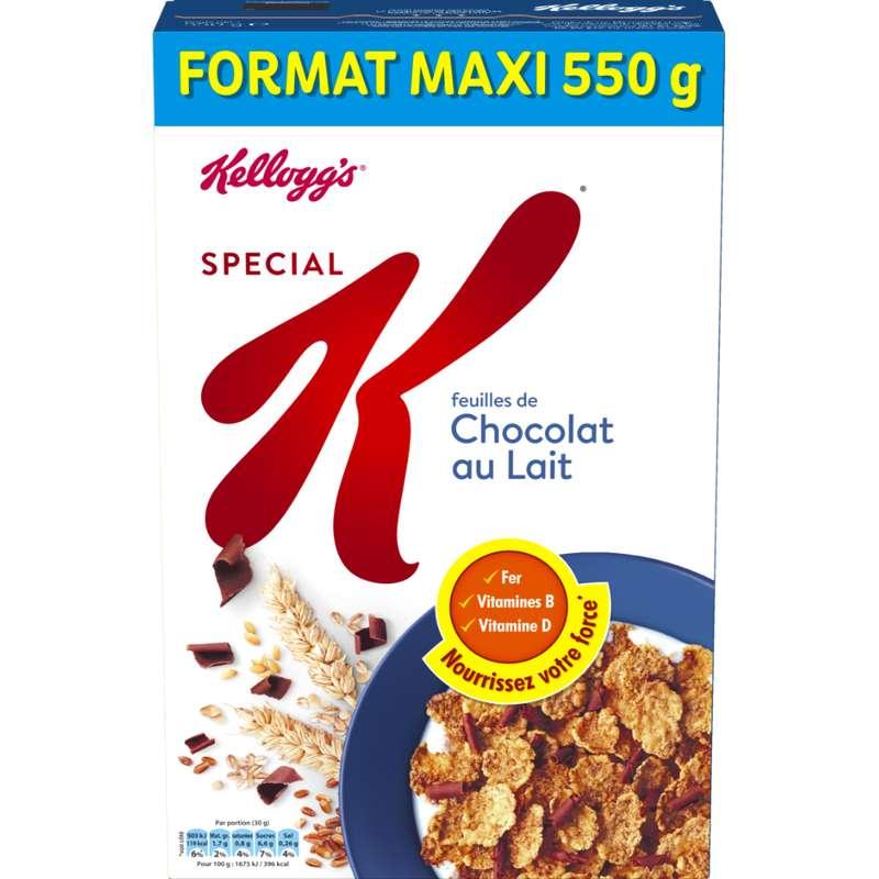 Special K Chocolat au Lait, Kellogg's (550 g)