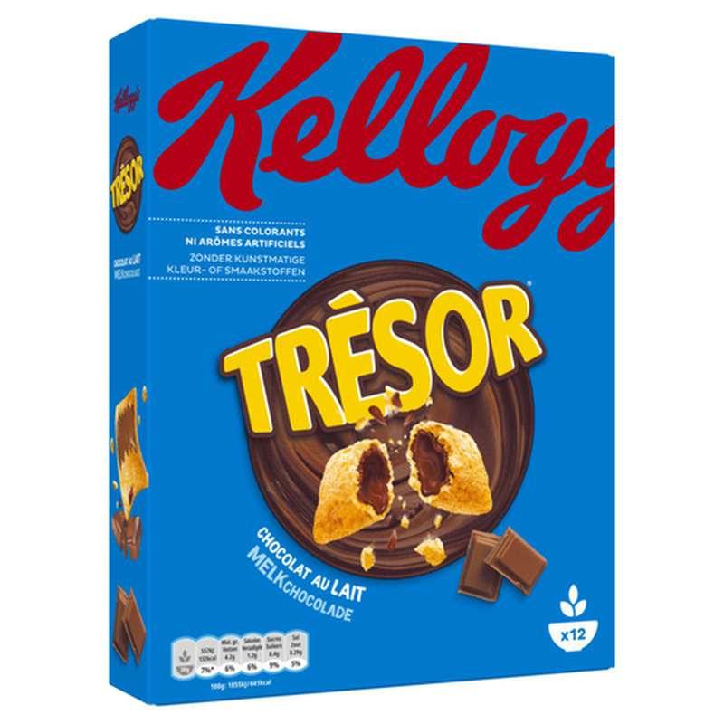 Céréales Trésor au chocolat au lait, Kellogg's (375 g)