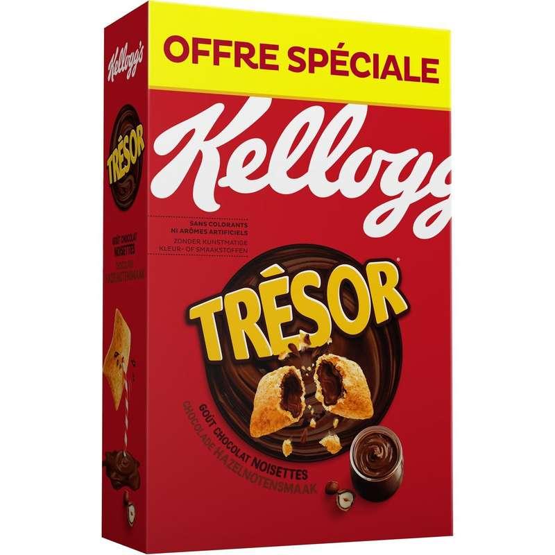 Céréales Trésor chocolat noisette, Kellogg's OFFRE SPECIALE (750 g)
