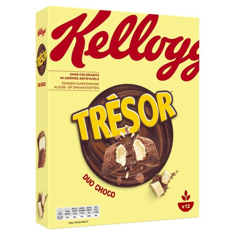 Céréales Trésor duo choco, Kellogg's (375 g)