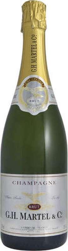Champagne brut, GH Martel (75 cl)