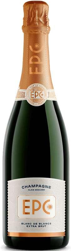 Champagne blanc de blancs Extra Brut, EPC Champagne (75 cl)