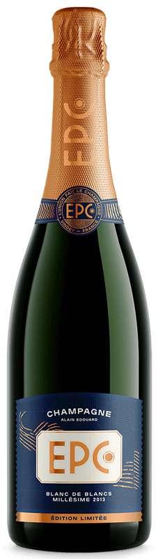 Champagne blanc de blancs Millésime 2013, EPC Champagne (75 cl)