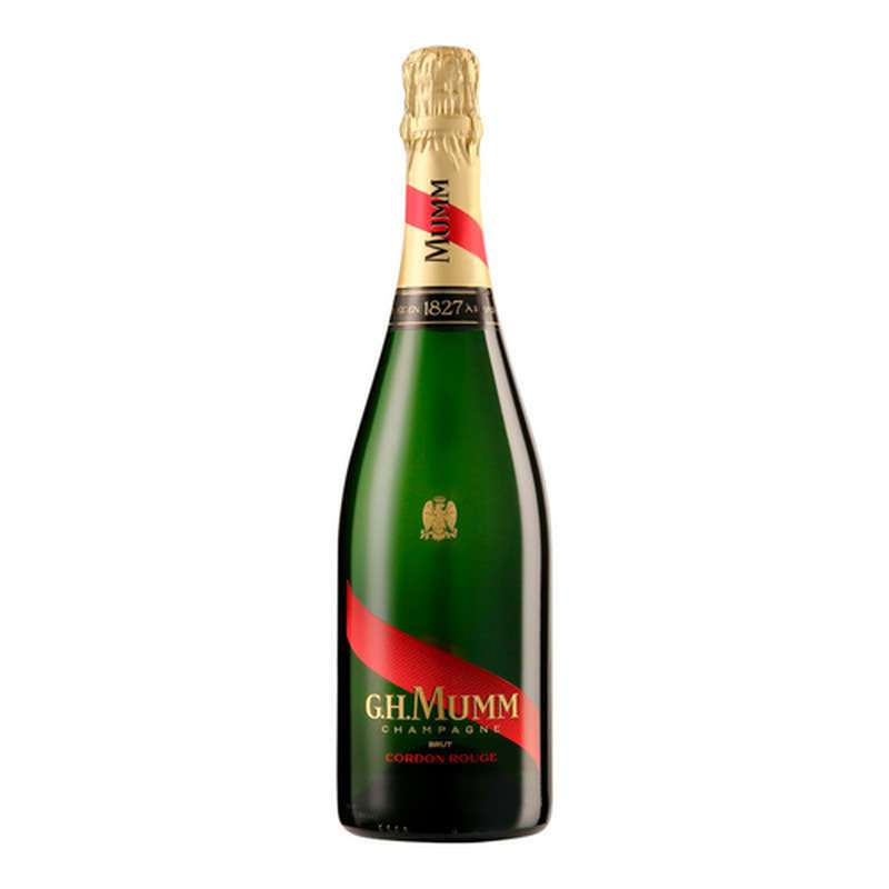Champagne brut Cordon Rouge, G.H. Mumm (75 cl)
