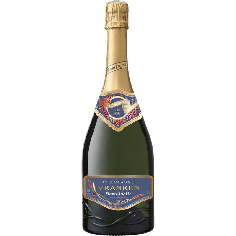 Champagne brut Demoiselle Extra Ordinaire Grande Cuvée, Vranken (75 cl)