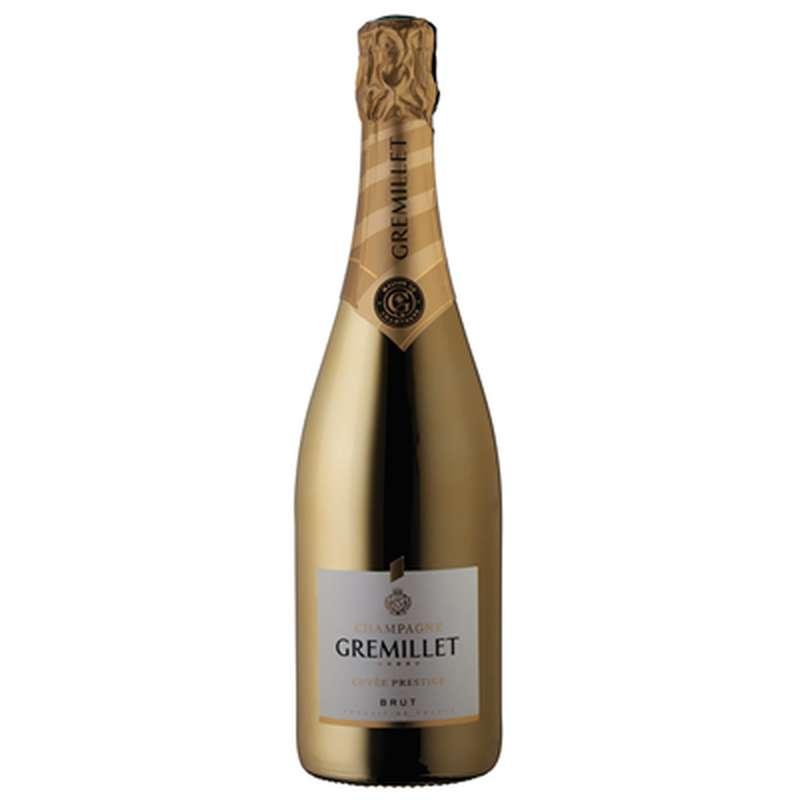 Champagne brut Sélection Or, Gremillet (75 cl)