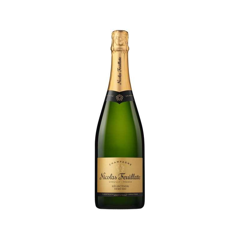 Champagne demi sec, Nicolas Feuillatte (75 cl)