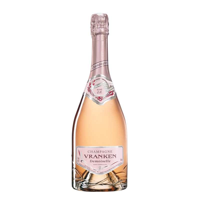 Champagne rosé Cuvée Demoiselle, Vranken (75 cl)