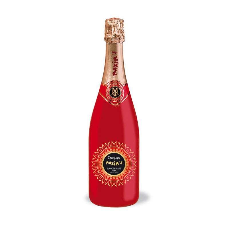 Champagne bouteille Rouge cuvée Blanc de Noirs, Maxim's (75 cl)