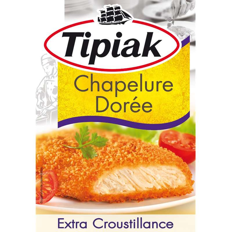 Chapelure dorée, Tipiak (250 g)