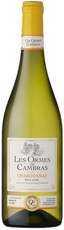 Chardonnay Blanc sélection Pays d'Oc Ormes De Cambras 2020 (75 cl)