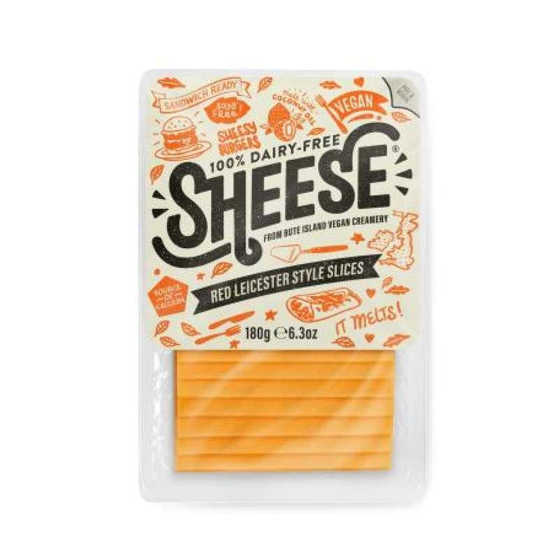 Cheddar vegan tranchés, Sheese (180 g)
