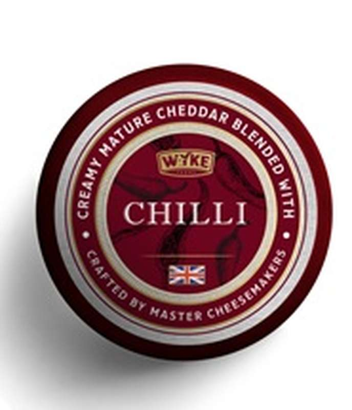 Cheddar cire Chili, Wyke Farms Wyke (100 g)