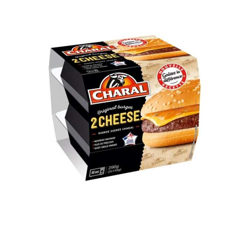 Cheeseburger, Charal (2 x 145 g)