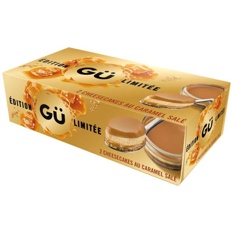 Cheesecake caramel au beurre salé, Gü (2 x 92 g)