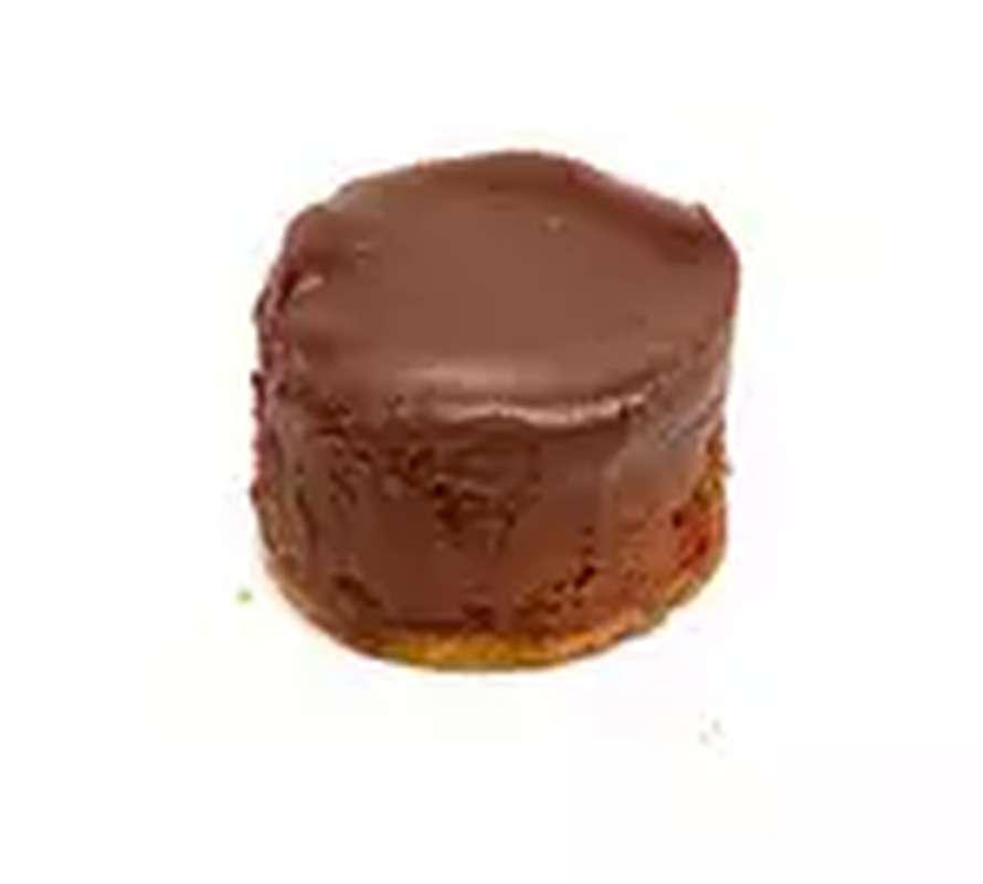 Cheesecake poire et chocolat noir, Rachel's cake