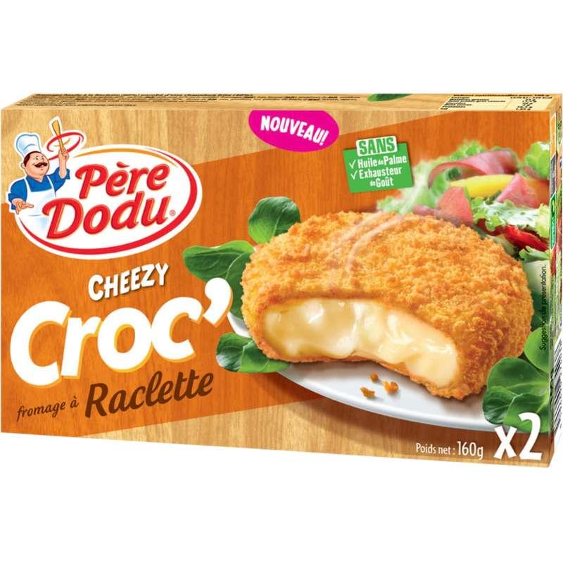 Cheezy Croc' raclette, Père Dodu (x 2, 160 g)