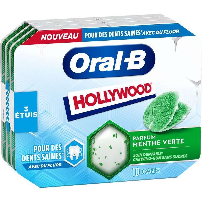 Chewing-gum menthe verte, Hollywood (17 g)