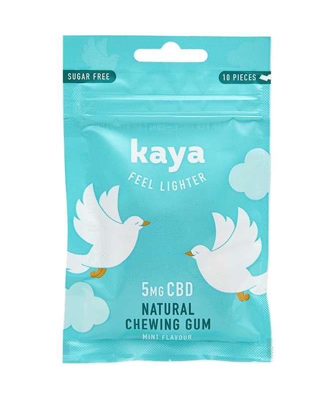 Chewing gum relaxant Saveur Menthe 5mg CBD, Kaya (20 g)
