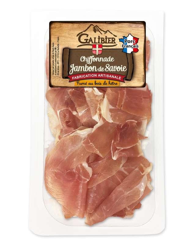 Chiffonnade de jambon fumé sec de Savoie, Galibier (80 g)