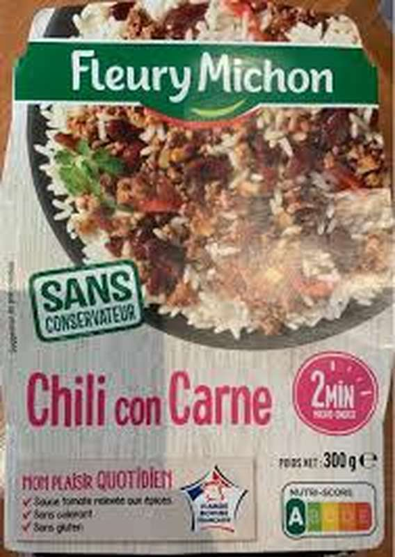 Chili con carne, Fleury Michon (300 g)