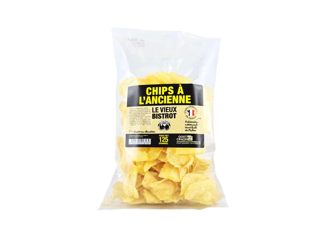Chips à l'Ancienne BIO, Le Vieux Bistrot (125 g)