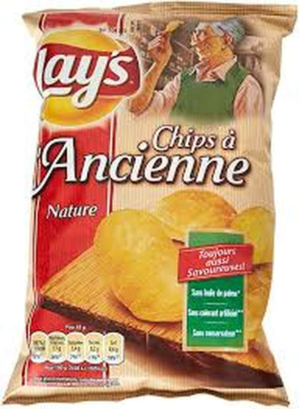 Chips à l'ancienne, Lay's (45 g)