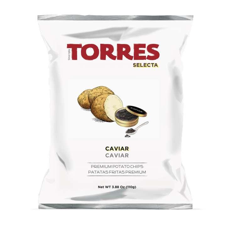 Chips saveur caviar, Torres (110 g)